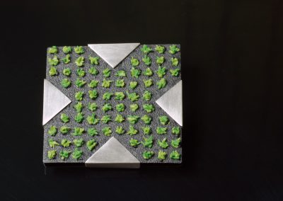 city garden - brooch