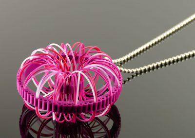 spirograph - pendant